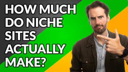 How much niche sites make - video