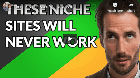 5 niche sites that will never work - video